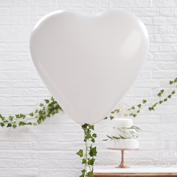 Giant Heart Shaped Balloon Large By Greatgalas