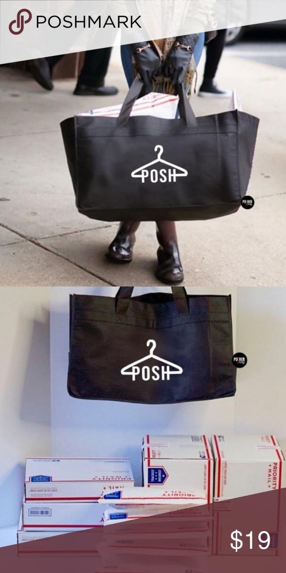 Posh Hanger Extra Large Utility Tote Bag