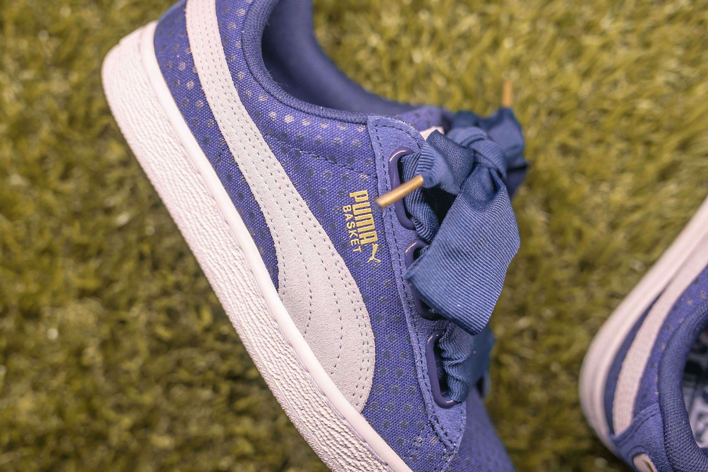 Puma basket heart, Exclusive sneakers