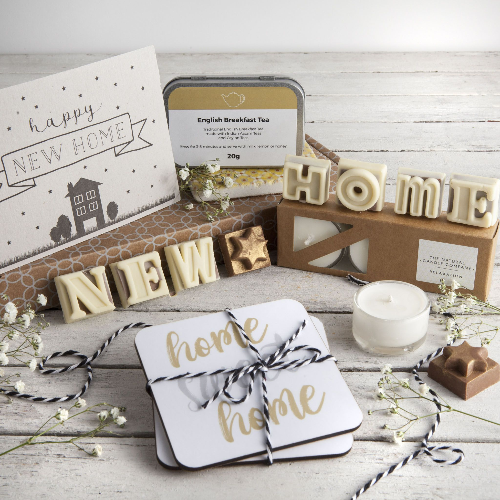 Say congratulations on the new home with our latest letterbox gift ...