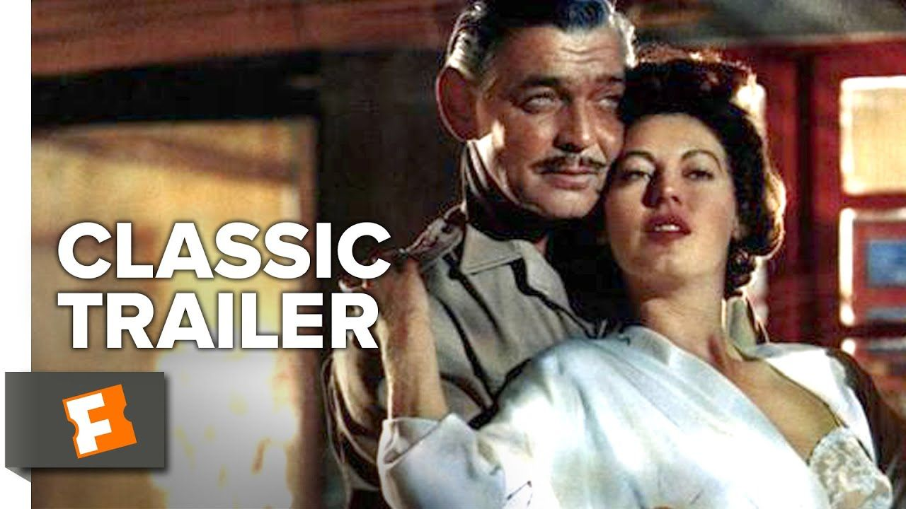 Mogambo 1953 Official Trailer Clark Gable Grace Kelly Adventure Adventure Movie Clark Gable Grace Kelly
