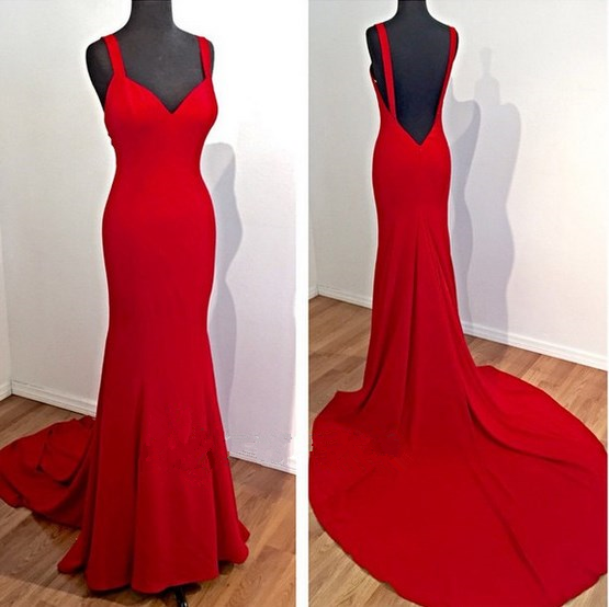 Fitted Red Prom Dresses Teen