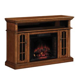 Cool Allen Roth 60 In Premium Pecan Electric Fireplace At Lowes Download Free Architecture Designs Lukepmadebymaigaardcom