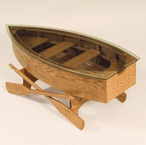 Rowboat Coffee Table