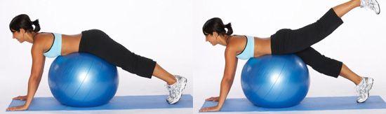 Как похудеть на мячике