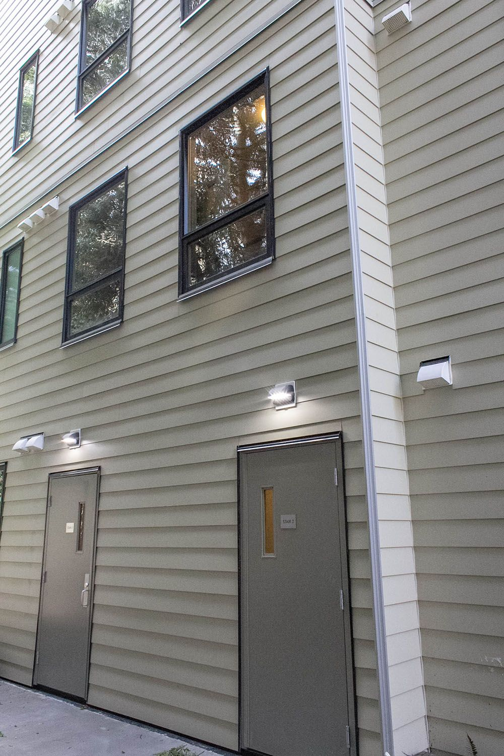 Multi Family Fiber Cement Trim Modern Forms Family Project