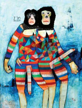 "Saatchi Art Artist Kelly Puissegur; Painting, ""2:30"" #art"