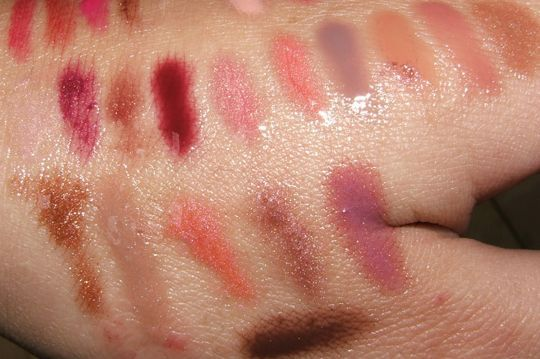 Cosmetics Lipglass Swatches, Lustreglass Swatches, & Plushglass Swatches MAC Cosmetics Lipglass Swatches, Lustreglass Swatches, & Plushglass SwatchesMAC Cosmetics Lipglass Swatches, Lustreglass Swatches, & Plushglass Swatches