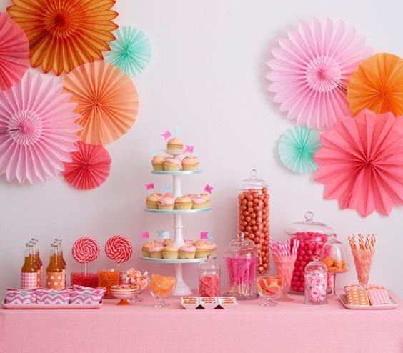 Creative Dessert Table Ideas Pink Dessert Tables Pink Desserts Pink Candy Buffet