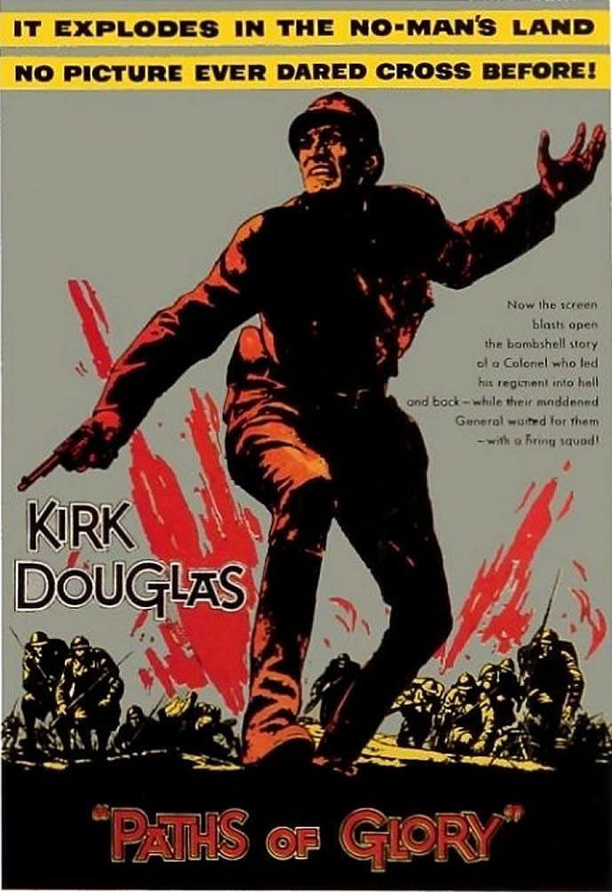 Paths Of Glory Classic Movie Posters Wallpaper Cine Belico Carteles De Cine Afiche De Cine