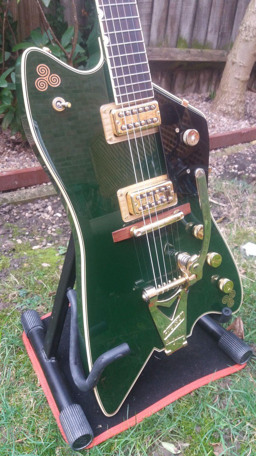 Gretsch G6199 Billy Bo Jupiter Thunderbird Cadillac Green No