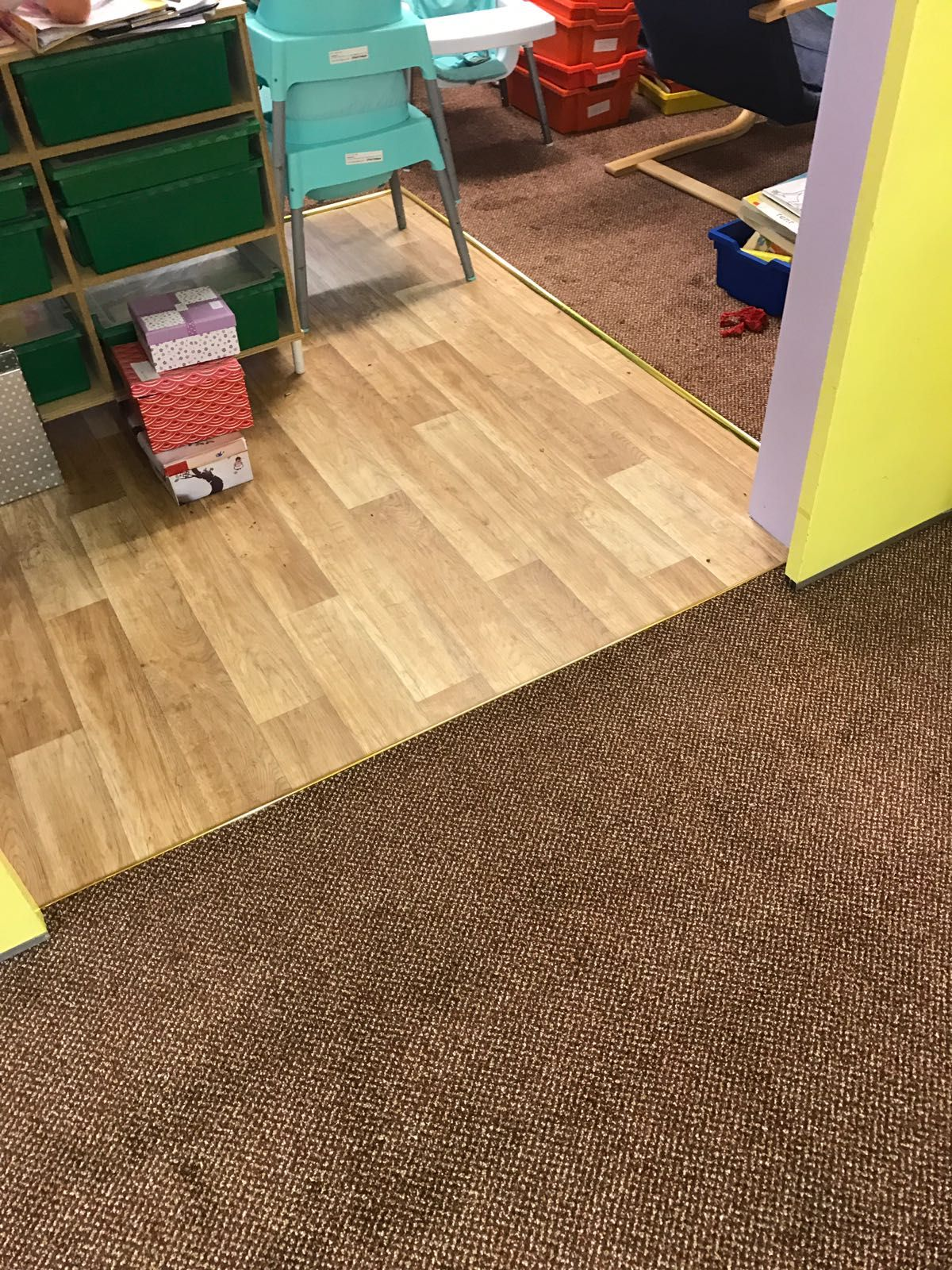 Durable contract grade floorings in both Vinyl and Carpet