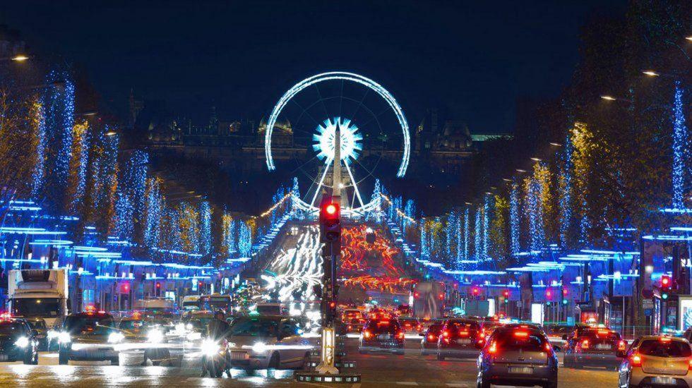 Paris Christmas Lights Christmas In Paris 4 Days In Paris Most Beautiful Cities