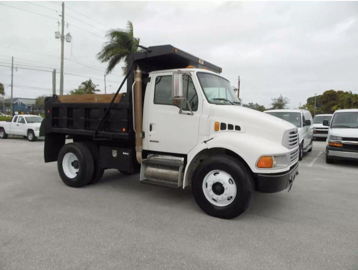 2009 Sterling Acterra Heavy Duty Trucks Cummins Diesel Dump Trucks