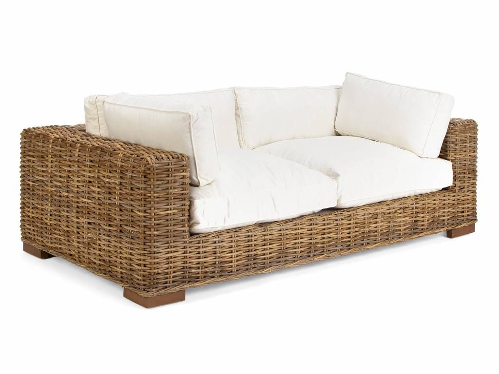 Rattan Sofa Liege Lounge Nice Design