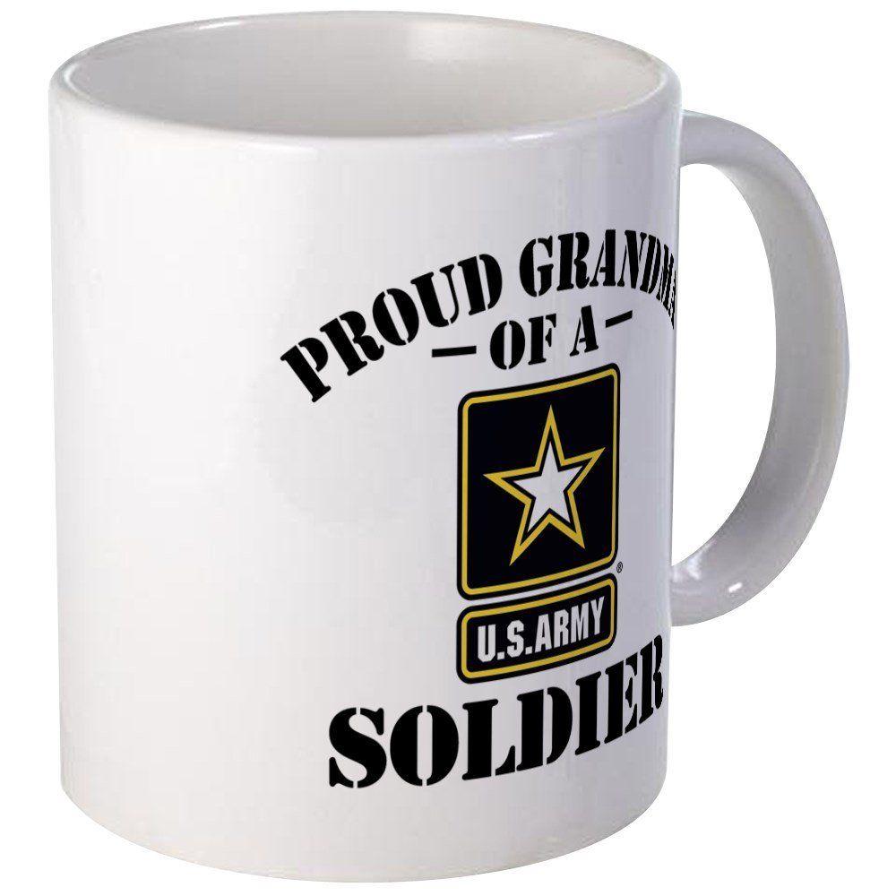 Cafepress proud us army grandma unique coffee mug