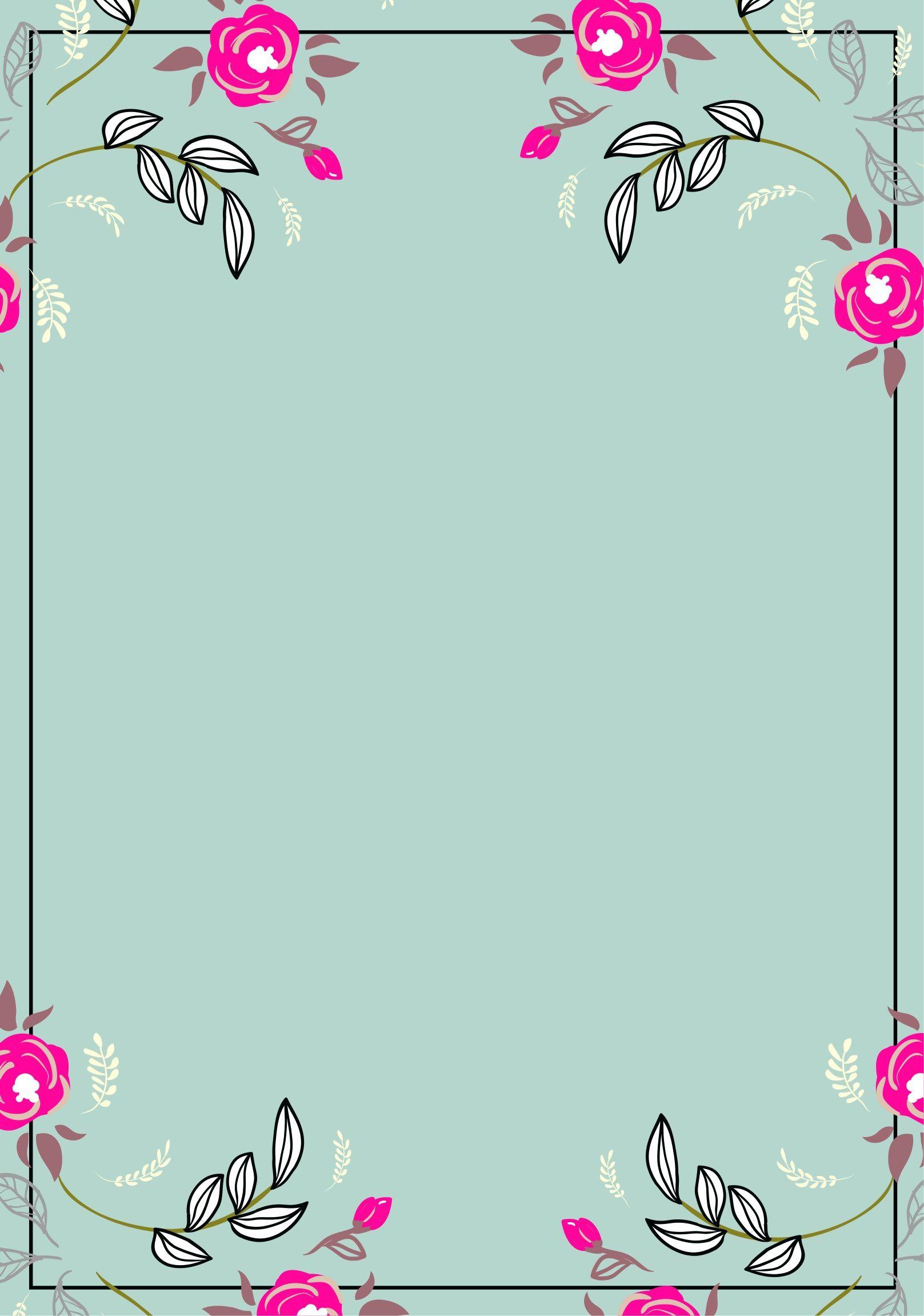 画像サンプル ポップな花の色紙 花 壁紙 色紙 壁紙