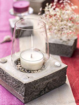 Beton Windlicht windlicht aus beton martina lammel concrete and