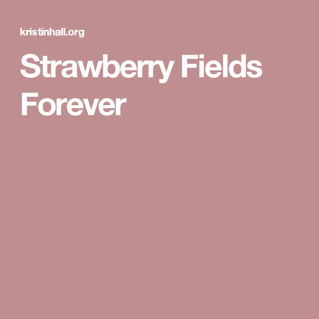 Strawberry Fields Forever Guitar Chord Chart Pinterest