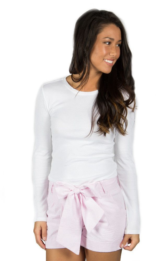 lauren james seersucker bow shorts pink from shop royal charter company royal charity