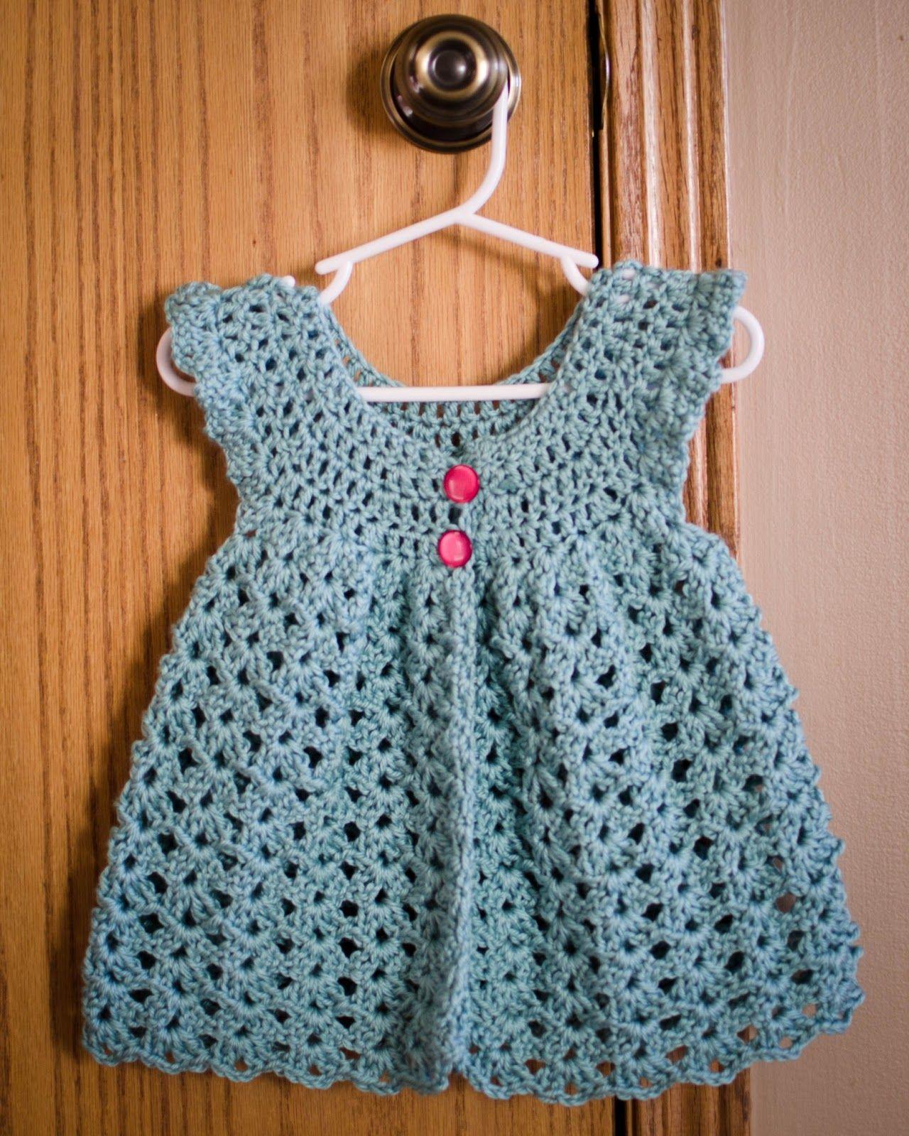 Vintage Crochet Dress | DaisiesforViolet.com | Pinterest ...