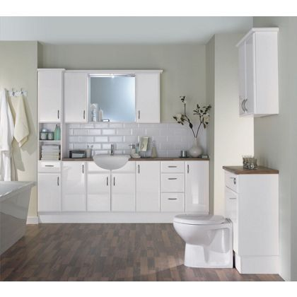 Marvelous White Mist WC Unit At Homebase    Be Inspired And Make Your House A Home.  Buy Now.