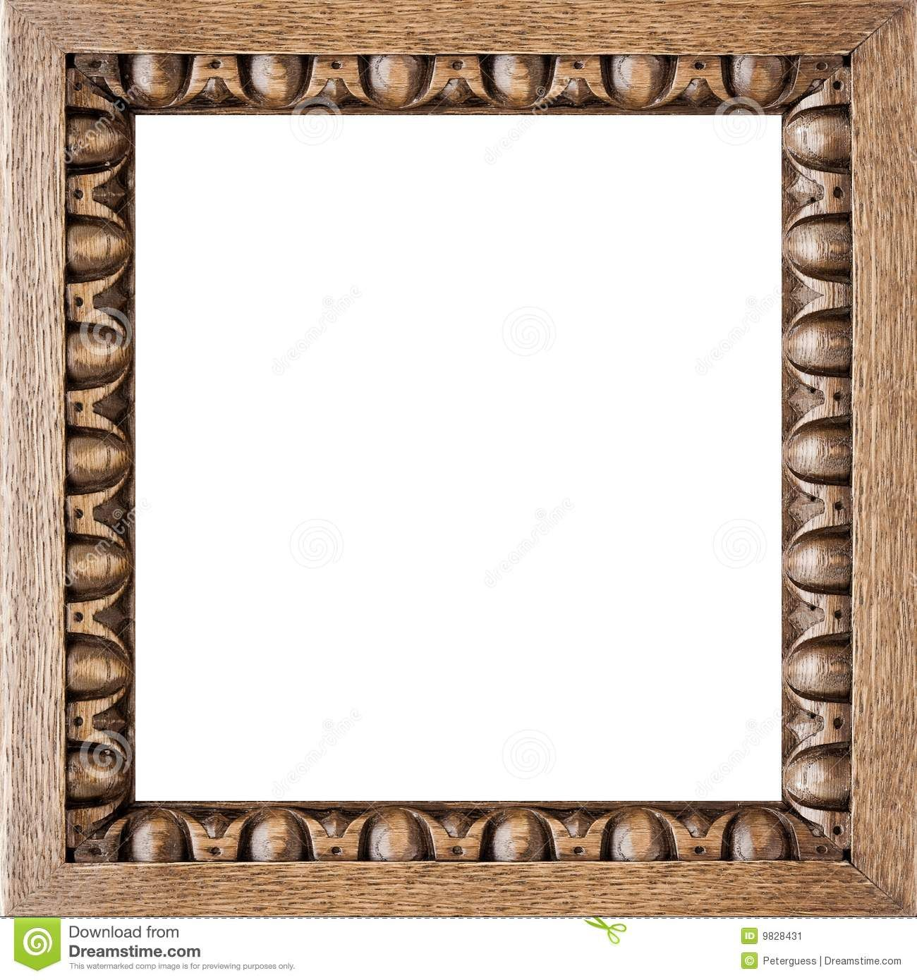 Square Carved Oak Picture Frame Download From Over 61 Million High Quality Stock Photos Images Vector Picture Frames Oak Picture Frames Wooden Mirror Frame