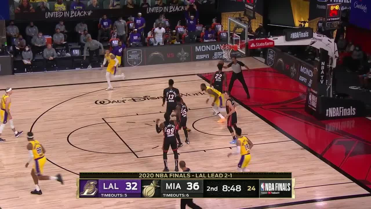 Top Dunks From Miami Heat Vs Los Angeles Lakers In 2020 Miami Heat Los Angeles Lakers Dunk