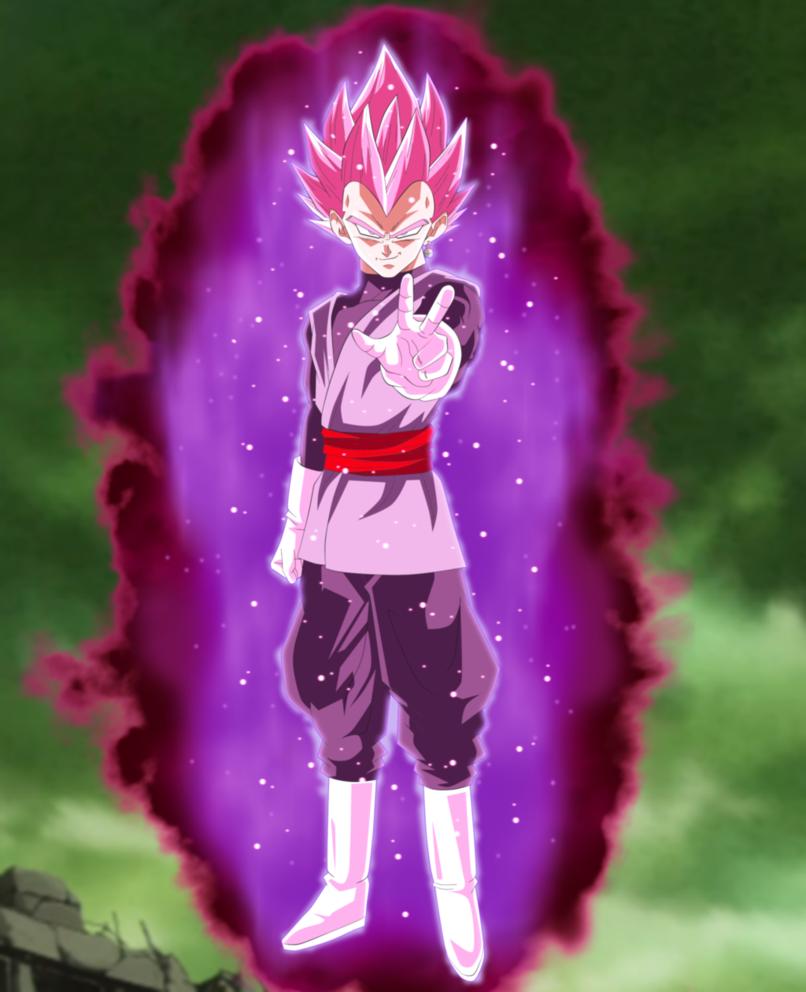 Divine Royalty Super Saiyan Rose Vegeta Black By