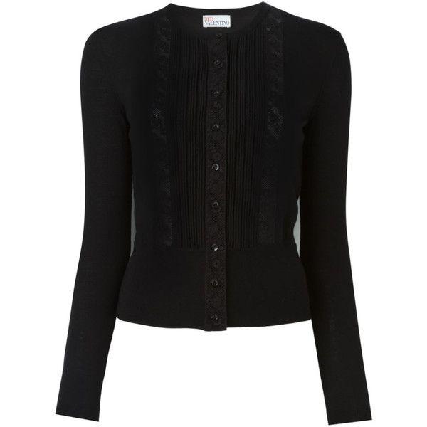 Valentino Damen lace insert cardigan - reduziert ($485) ❤ liked ...