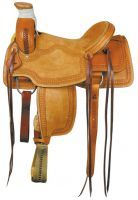 #1184 W.J. Wade Ranch Roper in the Texas Best fine line of American Saddlery; With the rugged front, hard seat, and high Cantle, John Wayne would like this Classic Old West type Saddle.  Shipped to your Barn Free with a Free Saddle Pad for $1279.00 from: http//www.saddledomain.com/W.J.Wade--Texas-Best-Ranch-Saddle--1184.html