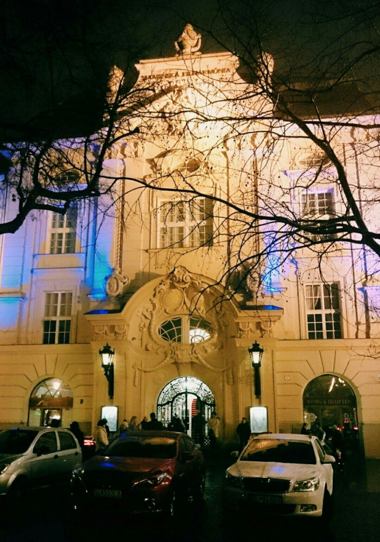 Bratislava in the winter