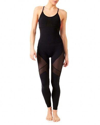 42454e8f420 Makarasana Yoga Unitard - Black