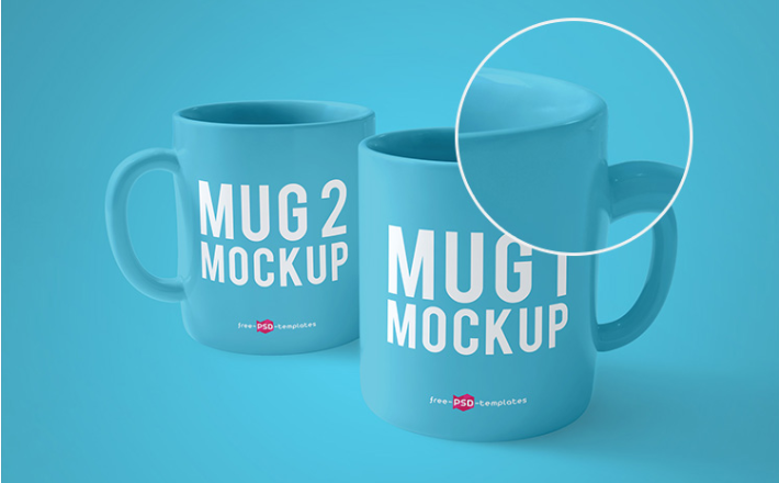 This mockup is part of a free design bundle: Mug Mockup Free Psd Template Mockup Free Psd Psd Template Free Mugs