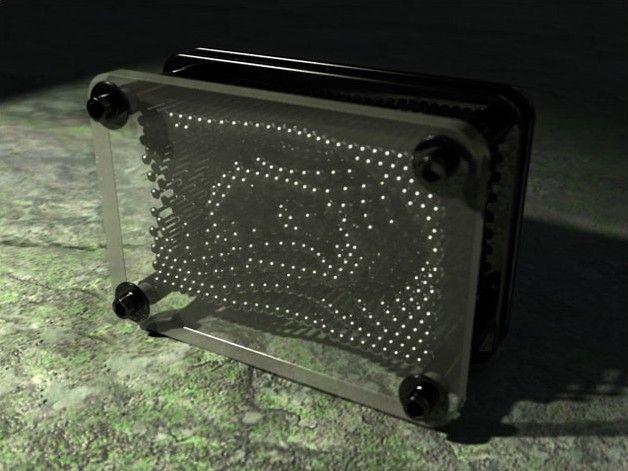 Pinbox Mental-Ray Rendering - Preciux