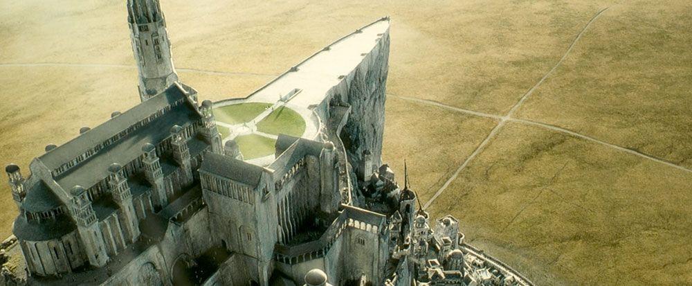 Gondor Lord Of The Rings Minas Tirith Gondor