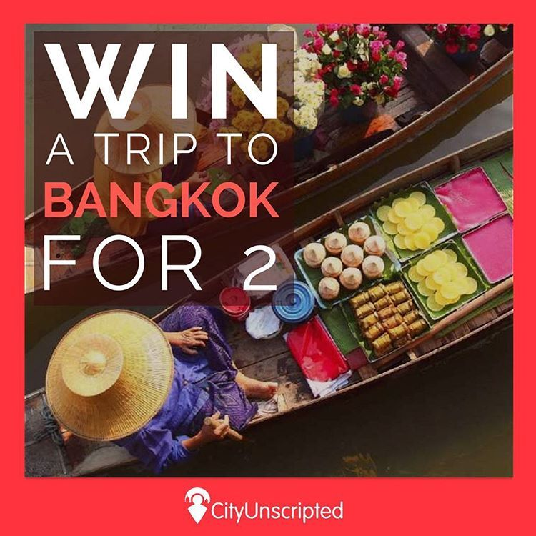 Win a trip to Bangkok for 2 including round trip flights, 4 nights luxury accommodation and two 7 hour city experiences with one of our Bangkok locals. ��✈️To enter click on the link on our bio ���� #bangkok #prizedraw #competition #winatrip #lovebangkok #lovetravel #travel #traveller #traveler #travelblogger http://tipsrazzi.com/ipost/1507301613373630910/?code=BTrAtTSgim-