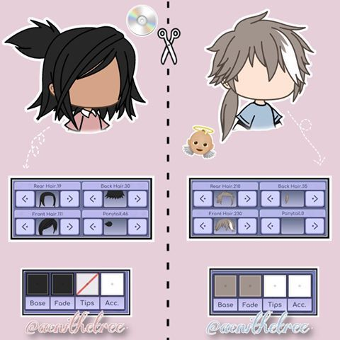 Hairstyles Gacha Life In 2020 Manga Clothes Anime Hair Cute Anime Character