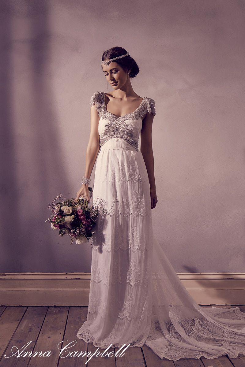 Anna Campbell Wedding Dress for Sale - Wedding Dresses for Plus Size ...