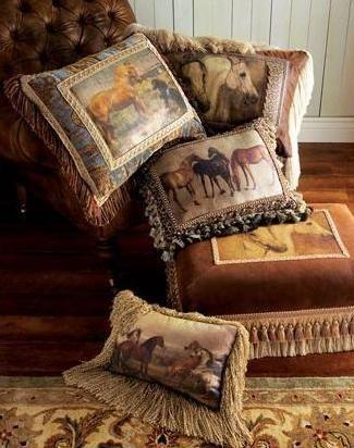 Decorative Sofa Pillows Equestrian Style Decor Decorative Sofa