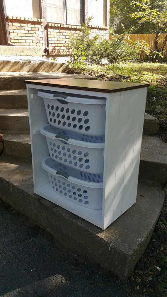 This Listing Is For A Gorgeous Handcrafted Solid Birch Wooden Laundry Basket Bin Holder T Laundry Basket Holder Laundry Basket Organization Diy Laundry Basket