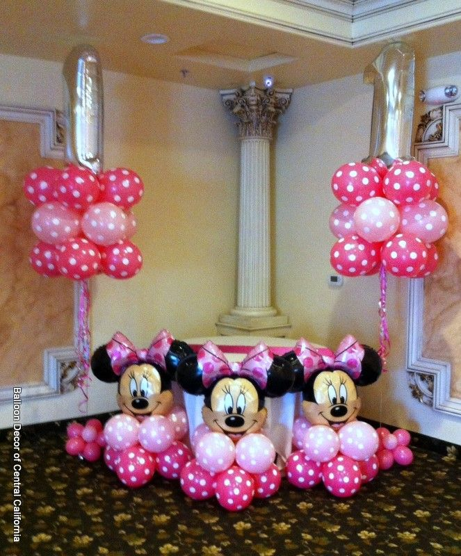 Image Result For Mardi Gras Balloon Decor And Party Ideas Minnie