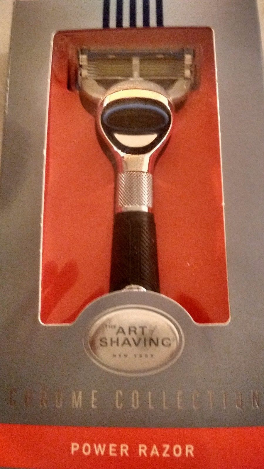 Other Mens Accessories 1060: The Art Of Shaving Men Accessories Fusion Chrome Collection Power Razor 1 Pc -> BUY IT NOW ONLY: $35 on eBay!