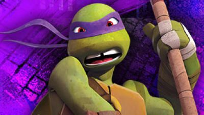 Rob May Have Originated The Voice Of Michelangelo But He Now Voices Donatello In Nickelodeon S New Tmnt Tmnt Donatello Ninja Turtle Tmnt Characters