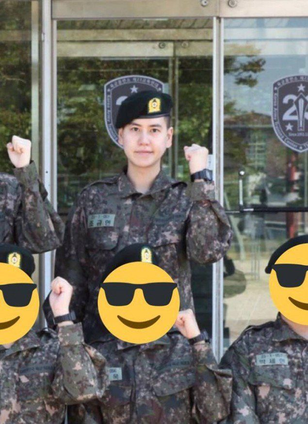 A Photo Of Kyuhyun In The Military Revealed Super Junior Photo Military