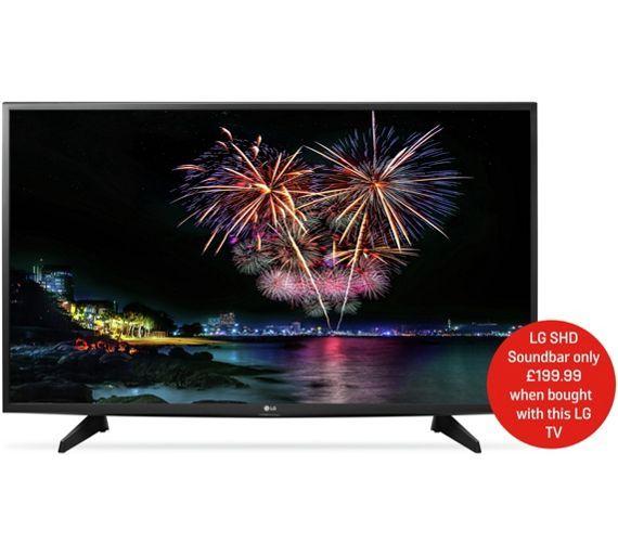 Buy Lg 43lh570v 43 Inch Full Hd Smart Led Tv At Argoscouk Your
