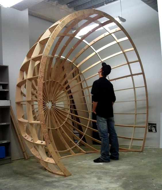 Wood Geodesic Dome Plans: Framing A Dome Or Sphere - Google Search: