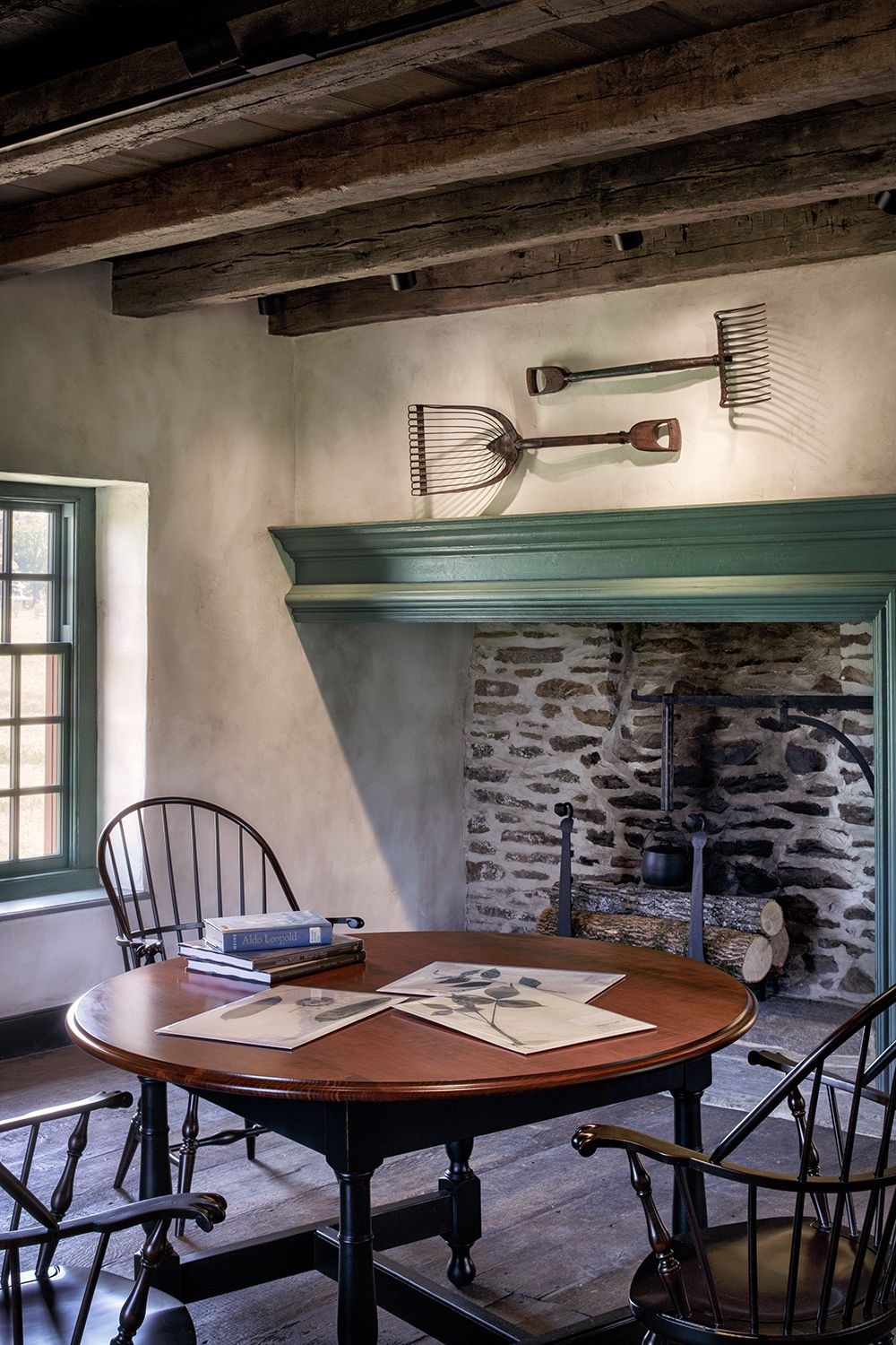 John Milner Architects Design Preservation Chadds Ford Pennsylvania Interior Wall Colors Colonial Decor Primitive Home