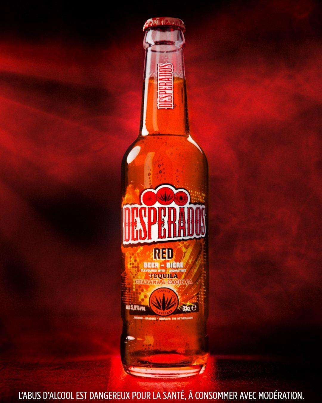 Biere Red Desperados Le Pack De 3 Bouteilles De 33cl A Prix Carrefour En 2020 Bouteille Biere Cachaca