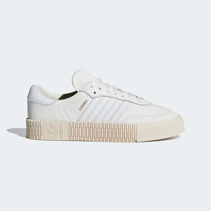 SAMBAROSE Shoes   Shoes in 2019   Adidas samba white, Adidas